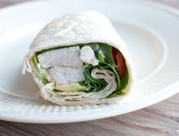 Recept: Lunchwrap met kalkoen en avocado