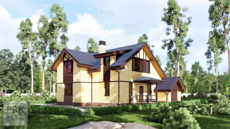 Каменный дом для подмосковья, имеет удобную планировку и может быть построен в этом году!