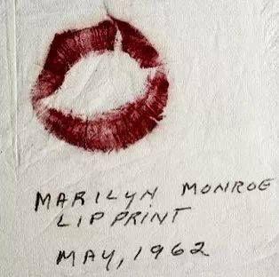 Marilyn Monroe (LIP PRINT) May 1962 - http://dunway.us