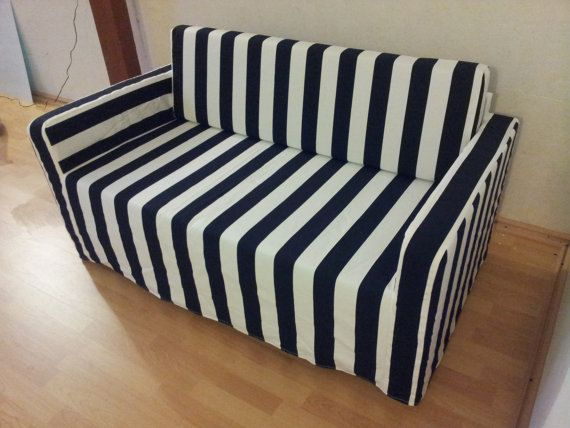 Slipcover for Solsta sofa-bed from IKEA high by KustomCovers