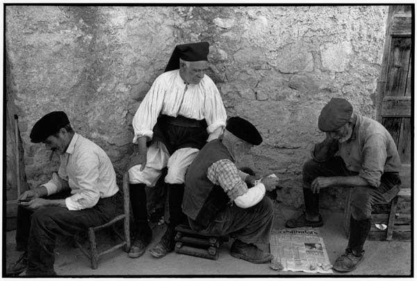 Sardinia in the 60s - Henri Cartier Bresson