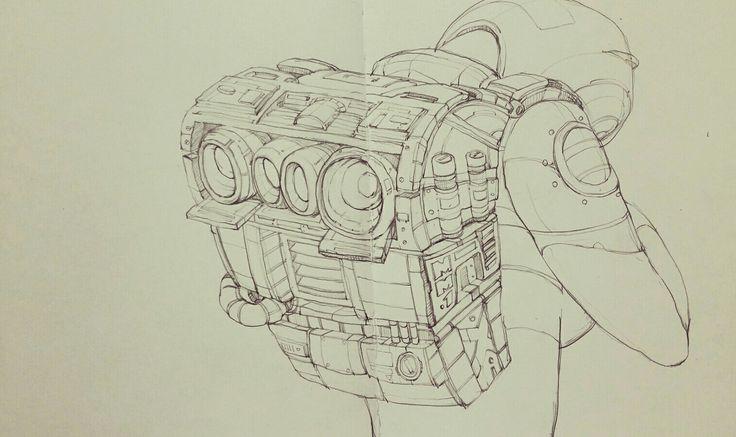 Woops~ #artist #illustrator #painting #drawing #manga #漫画 #girl #graffiti #note #pencil #copic #tokyo #korea #taipei #newyork #art #style #battlefield #womenwarriors warrior #battlefield#hero #space  #Science Fiction #fantasy #perseverance #tough #robot#cockpit #flighter #pilot #만화