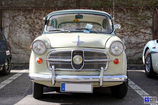 1953 NSU Fiat Neckar 1100-103 | Flickr - Photo Sharing!
