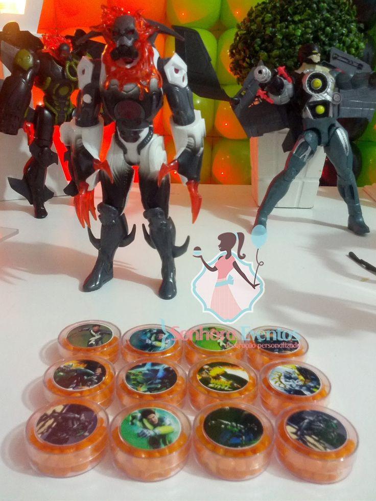 Senhora Eventos - Decoração Personalizada de Eventos!: Max Steel para Henrique