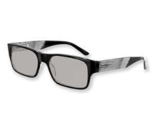 Scottsdale Men's Opti Sunglass Readers Bold Black w/ Striped Temples (1.25) by Optimum Optical. $11.46. Sunglasses & Magnifying Readers In One!. Leatherette case included!. Fashionable scratch-resistant lenses with flexible comfort hinges for a perfect fit.. Wonderful Gift!. Bold styles for men - but also great for women!. Available in seven powers from +1.25 to +3.00. 100% UVA and UVB protection! Fashionable scratch-resistant lenses with flexible comfort hinges for...