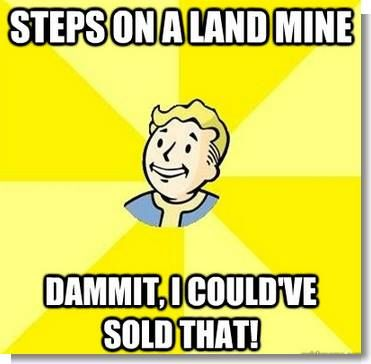 #Fallout Truths via Reddit user mgwalter