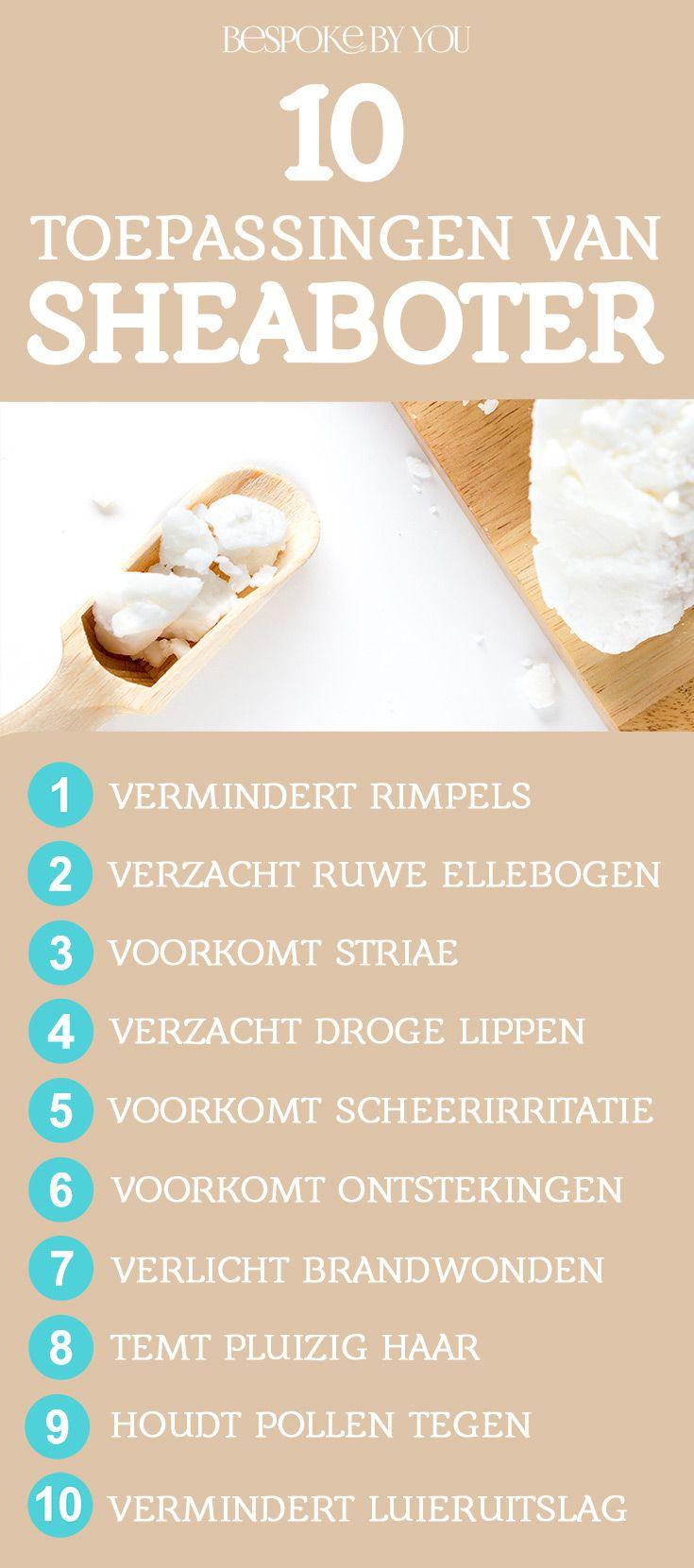 Zeg vaarwel tegen schurende winterhanden, ontembaar haar en een geïrriteerde huid: 10 fantastische redenen om sheaboter te gebruiken! Sheaboter is het alternatief voor kokosolie en kan het allemaal! Verkrijgbaar in de webshop van Bespoke By You.