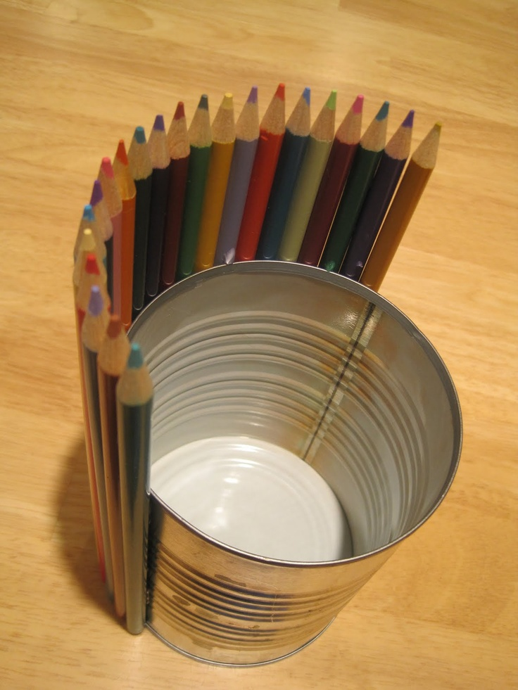 colored pencil centerpiece would also make a great teacher. Black Bedroom Furniture Sets. Home Design Ideas