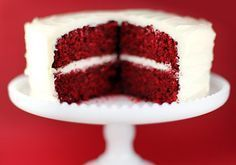 This is HANDS DOWN the best red velvet cake recipe EVER!!!! Truly, it is wonderful, moist, and delicious!!!