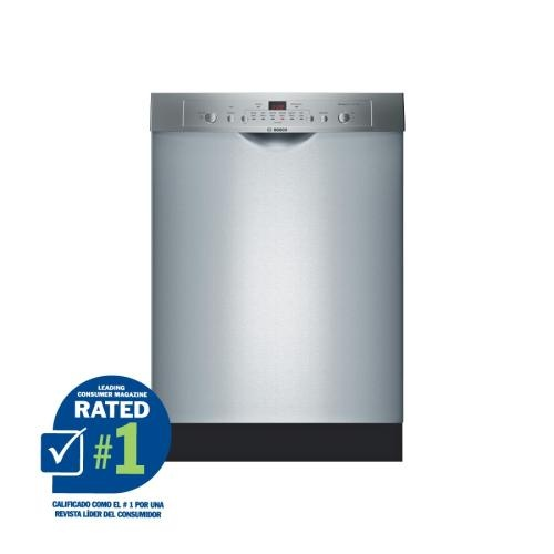 Bosch Ascenta 24in BuiltIn Dishwasher (Color Stainless