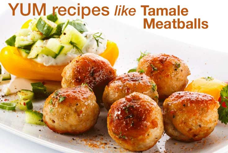 Tamale Meatballs - Throwing a party just got easier! Whether for family or a party, give a slow cooker a try on this hot and tasty dish.