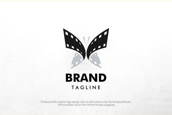 Butterfly Film Logo Film Logo Creative Logo Butterfly Logo