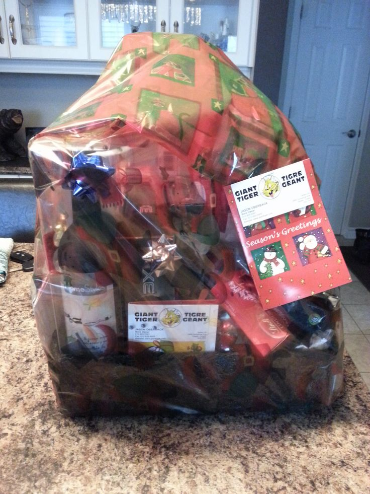Gift Basket donated by Jason Oberback of Giant Tiger's Pinecrest location at 2865 Dumaurier Avenue. Donated along with 4 $50 gift cards for a total value of ~$275.00!