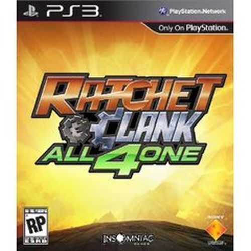 Title: Ratchet And Clank: All 4 One (Sony PlayStation 3, 2011) UPC: 711719981756 Condition: Good - Pre-owned. Item tested. Complete - Video Game Disc, Original Case, Original Case Artwork, and Manuel