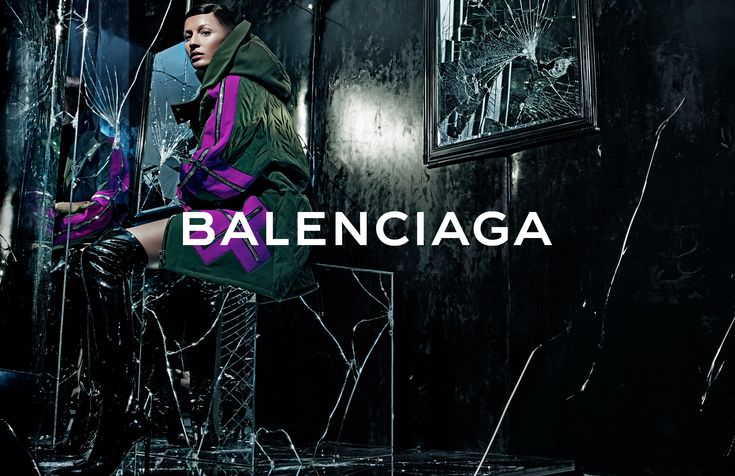 Balenciaga FALL WINTER 14 Campaign   Image #2    Photographer : Steven Klein   Model : Gisele Bündchen   www.balenciaga.com