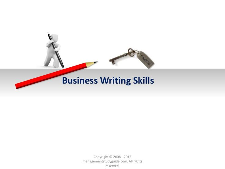 Business writing-skills are essential business communication skills by Gia Tri Tien via slideshare
