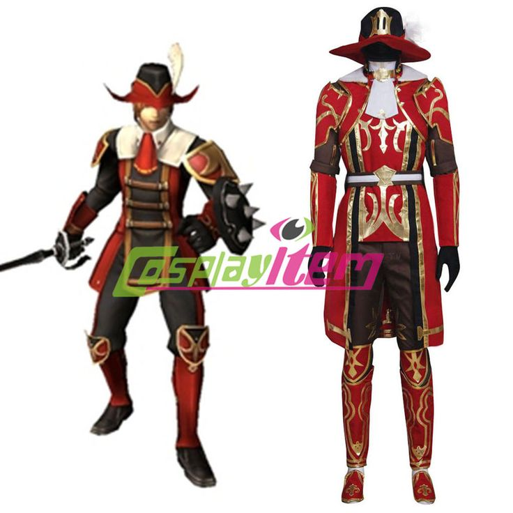 Final Fantasy Cosplay Final Fantasy XI 11 Red Mage Anime Cosplay Costume Custom | Clothing, Shoes & Accessories, Costumes, Reenactment, Theater, Costumes | eBay!
