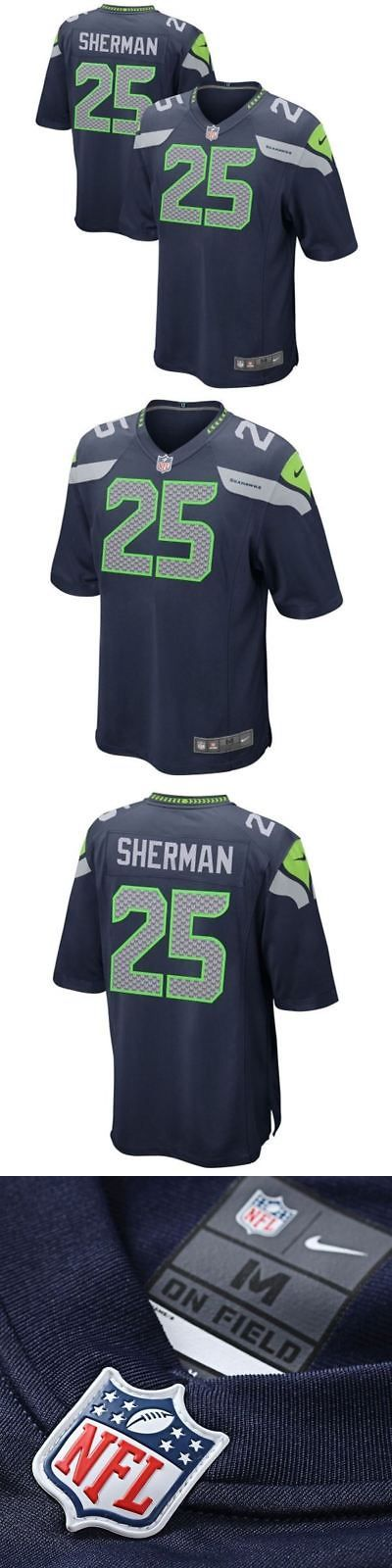 Youth 159111: Nike Nfl Youth #25 Richard Sherman Seattle Seahawks Game Jersey -> BUY IT NOW ONLY: $75 on eBay!
