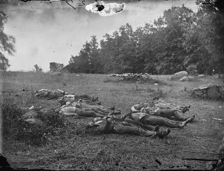 Pictures of the Battle of Gettysburg