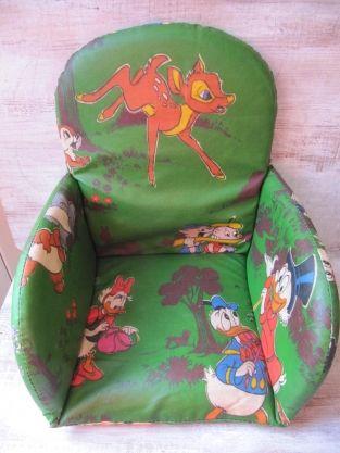 Vintage stoelverkleiner kinderstoel - Disney