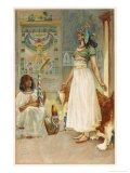 Anthony and Cleopatra Giclee Print by Walter Paget