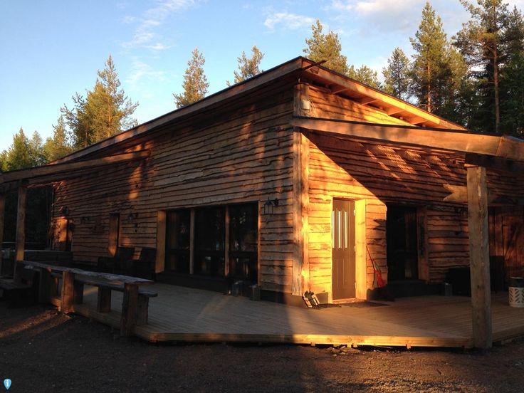 Metsäkyly sauna @visitrovaniemi