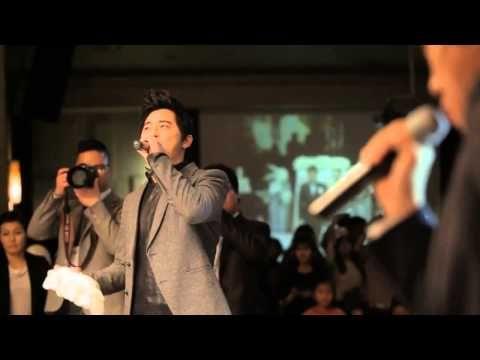 121216 조정석,송용진 축가 '지금 이 순간' - 홍록기 결혼식 - YouTube