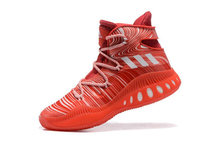 Free Shipping Only 69$ adidas Crazy Explosive John Wall Solar Red Bright Red White
