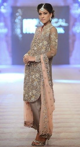 Nida Azwer The Ghalib Collection Bridal Wear 2015 at Fashion Week - Clothing9 | Latest Clothes Fashion Online | Pakistani Dress Designers