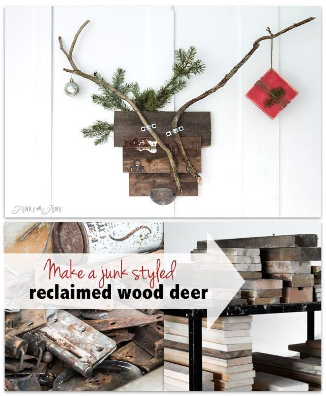 1523 best images about decor christmas on pinterest for Funky junk home decor newfoundland