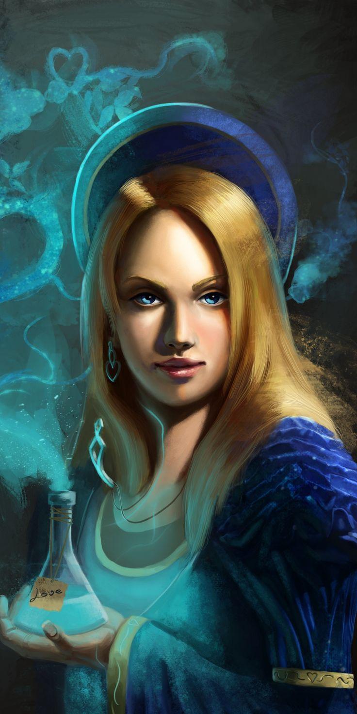 Girl Magician Sweet Poison Blonde Art 1080x2160 Wallpaper The Magicians Art Comic Art