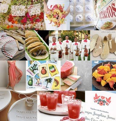Latina & Hispanic Bees!! How are you adding your culture into your wedding? :  wedding ethnic hispanic latina spanish Fiesta+wedding