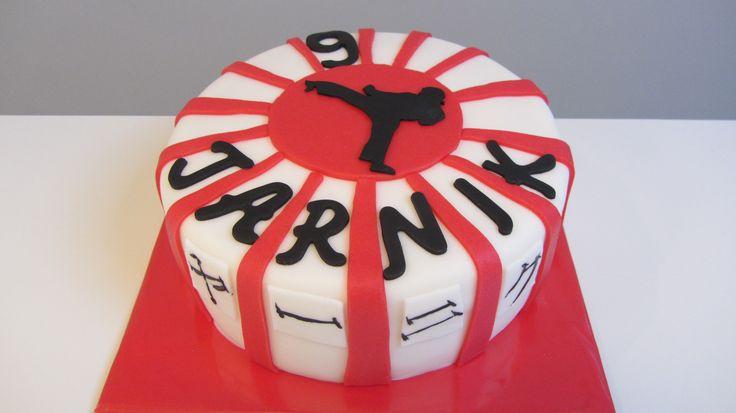 Karate taart