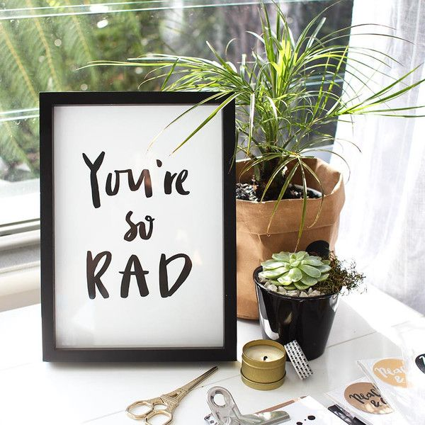Peach & Co - Your So Rad Print... from $25