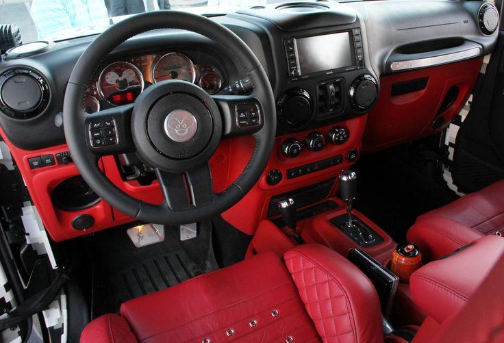 Deamau5 Custom Jeep Interior Deadmau5 Custom Jeep Las Vegas Pinterest Interiors Custom