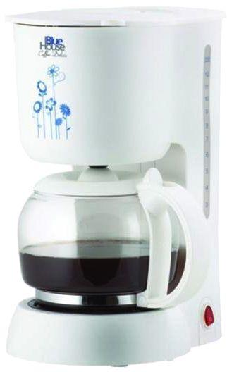 BLUEHOUSE BH256CM COFFEE DELIZIA KAHVE MAKINESI Kapasite: 12 fincan 1080watt Su hazne kapağı Su haznesi Güç dügmesi Cam sürahi Isıtıcı plaka Kahve filtresi (sepet) Su seviye göstergesi  http://www.pazarvizyon.com/blue-house-bh256cm-coffee-delizia-kahve-makinesi.html