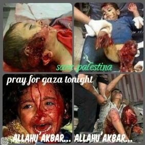 Gaza tonight:'(