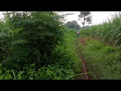 Jalur sepeda cross country di Pati   Berbagi Tak Pernah Rugi