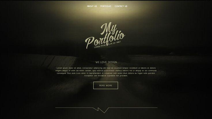 How To Design A Clean Portfolio Website In Photoshop