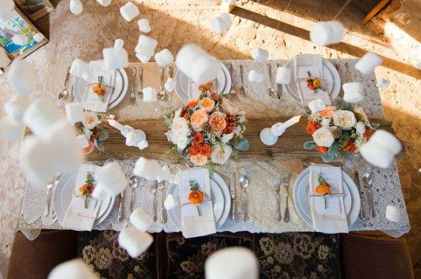 casamento no inverno, neve, laranja, pêssego, winter wedding, indoor snow, marshmallows.