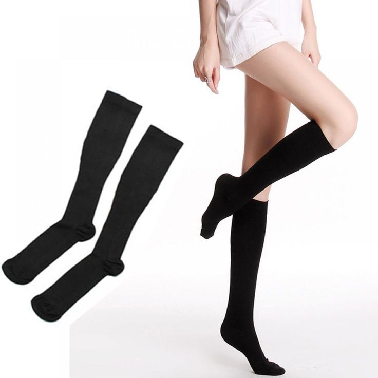 2017 Women Sexy Popular Breathable Knee High Compression Toning Pressure Stocking Lose Weight Stockingjiang #Affiliate