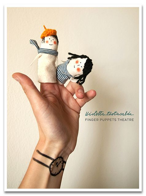 marionetas de dedo/finger puppets