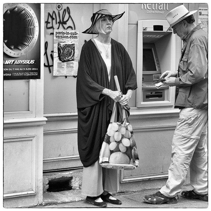 Paris girl by Kristinn Gudlaugsson