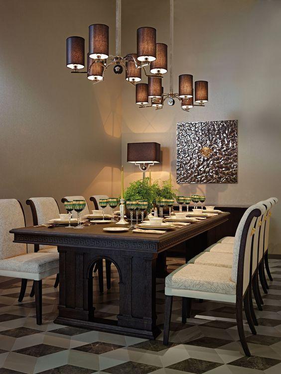 Wonderful Luxury Dining Tables For Modern Apartments #luxuryhomes  #contemporaryfurniture #highendfurniture Abitareusa.com