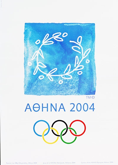 Poster for the 2004 Athens Olympic Games
