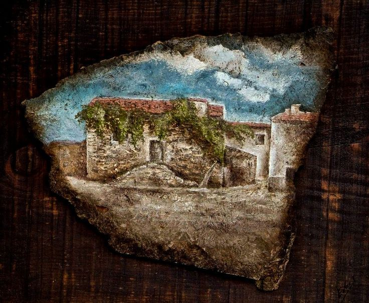 Pintura en Piedra Natural