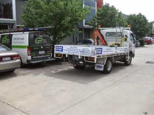 We're here to help you get noticed - vehicle wraps (partial and full), magnetics, vinyl graphics and lettering etc www.signgallery.com.au/