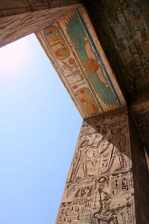wanderthewood:  Medinet Habu (Temple of Ramses III), Luxor, Egyptbyareyarey