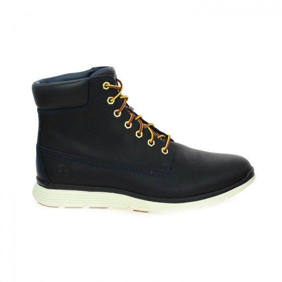 Bottillons homme bleu TIMBERLAND KILLINGTON HI - Bessec-chaussures.com