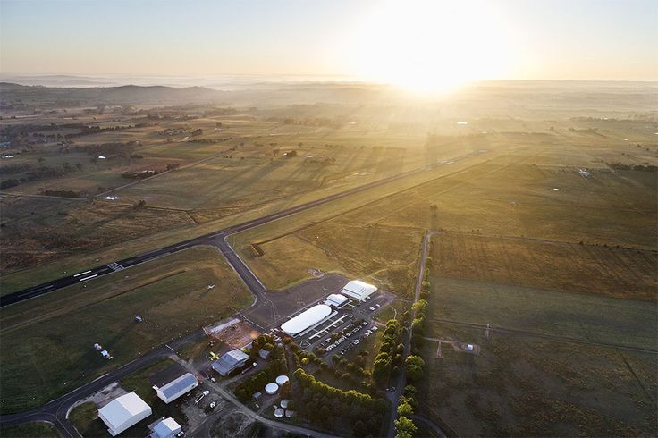 Orange Regional Airport ~ Cox Architects, in association with Geolyse (2015) ~ The project also included a 538 metre extension of Runway 11/29.